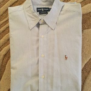 Ralph Lauren Mens Long Sleeve Button Down